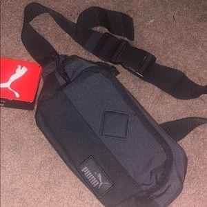 Black puma bag